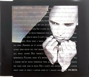 The-Christians-Maxi-CD-Words-France-EX-EX