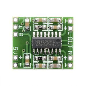 10pcs-DC-5V-Amplifier-Board-Class-D-2-3W-USB-Power-Mini-PAM8403-Audio-Module