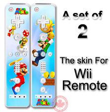 SUPER MARIO NEW SKIN STICKER FOR NINTENDO Wii Remote #1