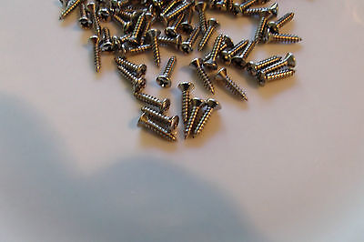 Stainless steel pickguard control plate screws for Fender jazz precision PJ bass