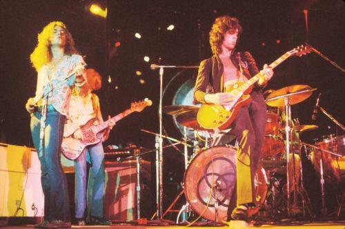 """Led Zeppelin 13 x 19/"""" Photo Print"""