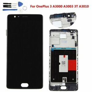 For-OnePlus-3-3T-LCD-Display-Frame-Button-Touch-Screen-Digitizer-Replacement-UK