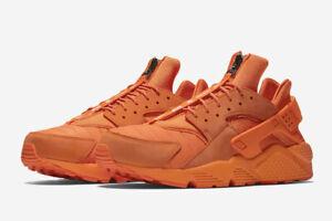 f330f966c5b1 2017 Nike Air Huarache Run QS CHICAGO SZ 9 Orange Blaze Flame NRG ...