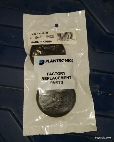 Plantronics 15729-05 Ear Cushion Pads Replacement Genuine OEM New 10 Pairs
