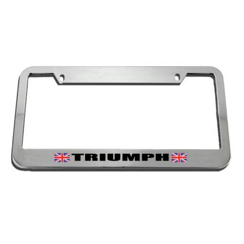 Triumph License Plate Frame Tag Holder