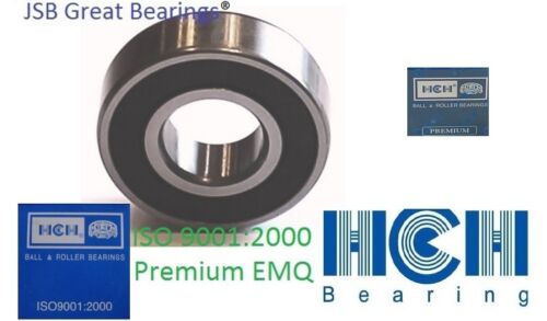 Qt.2 6201-1//2-2RS Premium HCH 6201 8 2rs bearing 6201 rs bearings ½ inch bore