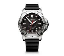 New! Victorinox Swiss Army Inox Pro Diver Rubber Strap Men's Watch 241733.1