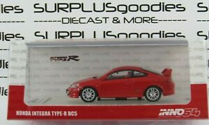 INNO64-1-64-Scale-2020-Release-Red-2002-HONDA-INTEGRA-Type-R-DC5-IN64-DC5-RED