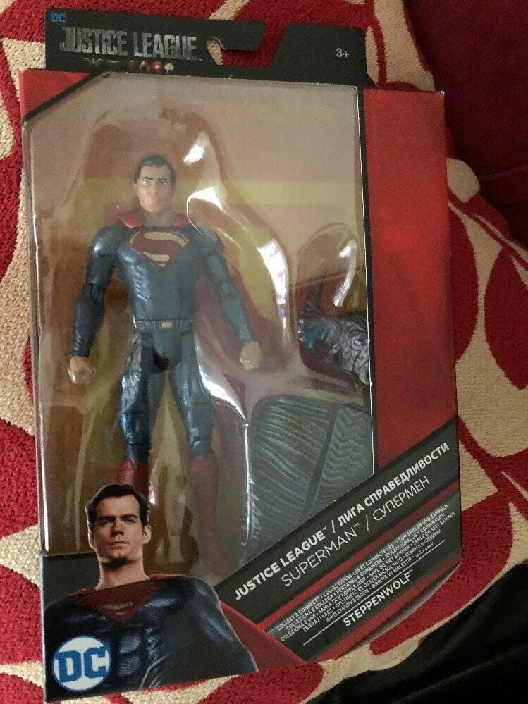 Superman  Multiverse  Justice League   New Film six Inch Figure set