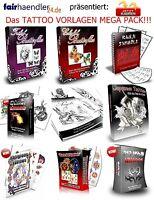 Vorlagentattoos Mega Pack + Bonus Für Tätowierer Vorlagen Tattoos Shop Cool Mrr