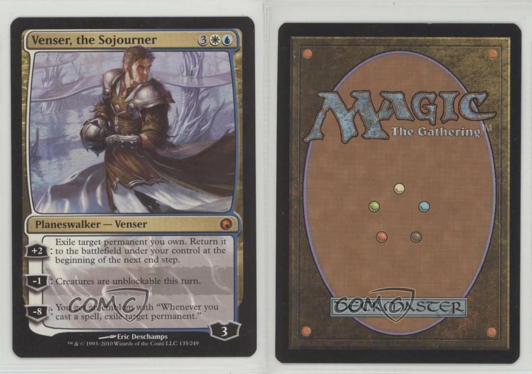 2010 Magic  The Gathering Gathering Gathering - Scars of Mirrodin Venser the Sojourner Card 6sd 0d9d2f