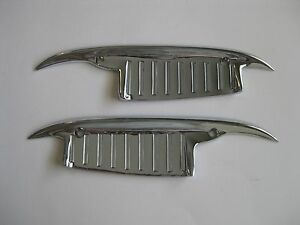 1960 - 1964 CHEVROLET CAR  DOOR HANDLE Scratch GUARDS PAIR