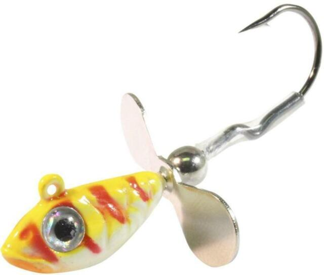Choice of Color One Package Northland Whistler Fishing Jig 1//8 oz