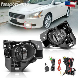 Image Is Loading For 2009 2014 Nissan Maxima Clear Fog Light