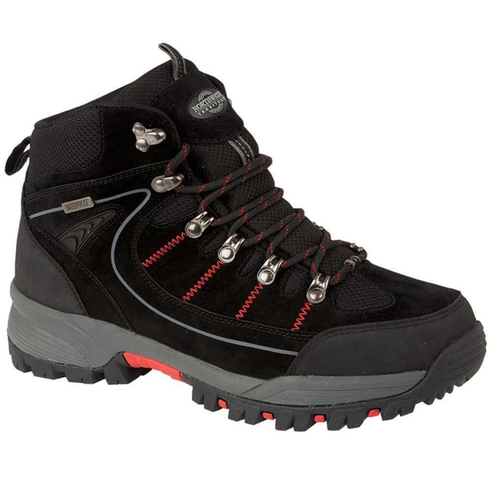 Uomo NORTHWEST Leder Walking Hiking Schuhes Waterproof Ankle Stiefel Trainers Schuhes Hiking Größe 0b0e8d