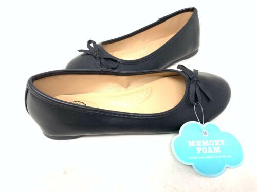 NEW SO Youth Girl/'s Candy Slip On Ballet Flats Black #212984 141V tz
