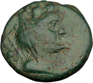 TRIPOLIS-in-PHOENICIA-Tyche-Nike-Ship-1stCenBC-Rare-Ancient-Greek-Coin-i37716