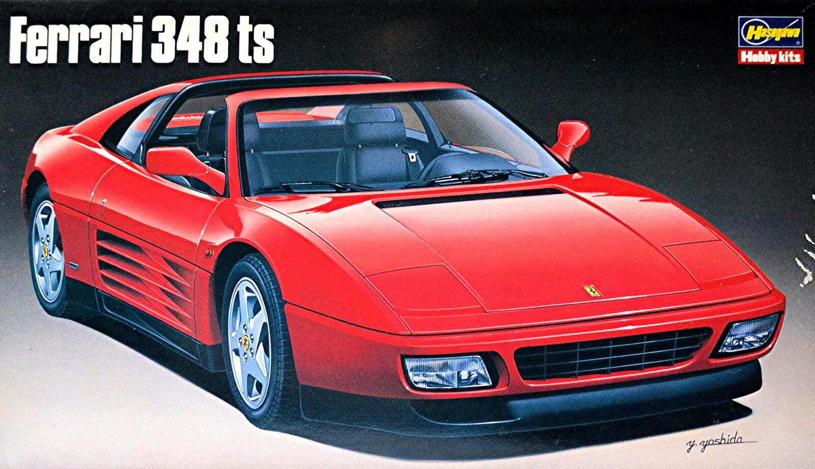 Ferrari 348 Ts Targa Version 1989-93 - 1 24 Kit Kit Hasegawa CA-8