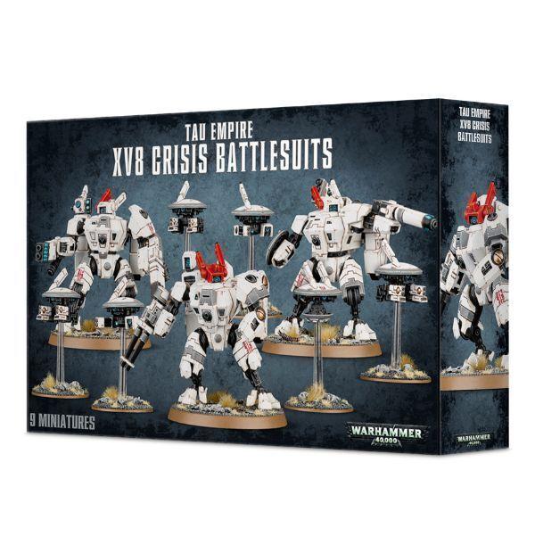 Tau XV8 crisis Battlesuits Juegos taller Warhammer 40K (56-07) Nuevo Sellado Nuevo