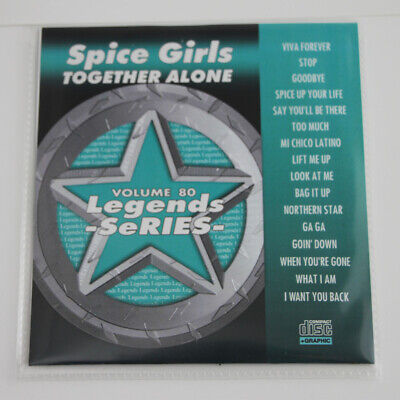 Karaoke Legend Series Cdg Spice Girls Vol-80 Vinyl /print Attractive Designs; Karaoke Entertainment