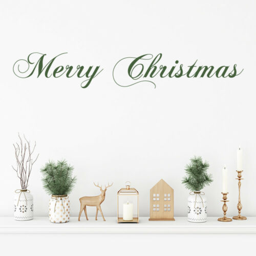 Merry Christmas Quote Wall Sticker WS-50020