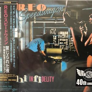 Details about REO Speedwagon - Hi Infidelity(40th Anniversary CD- 2Discs ),  2011 EICP-1492-3 /