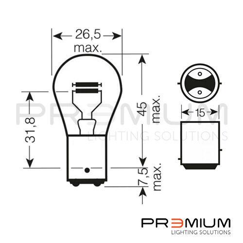Citroen Xsara Picasso Front Indicator Bulbs00-10 FI581