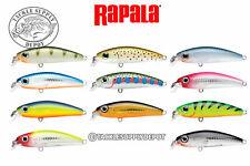"Rapala Ultra Light Minnow ULM04-TR Trout 1 1//2/"" 1//8 oz Panfish Trout Lure"