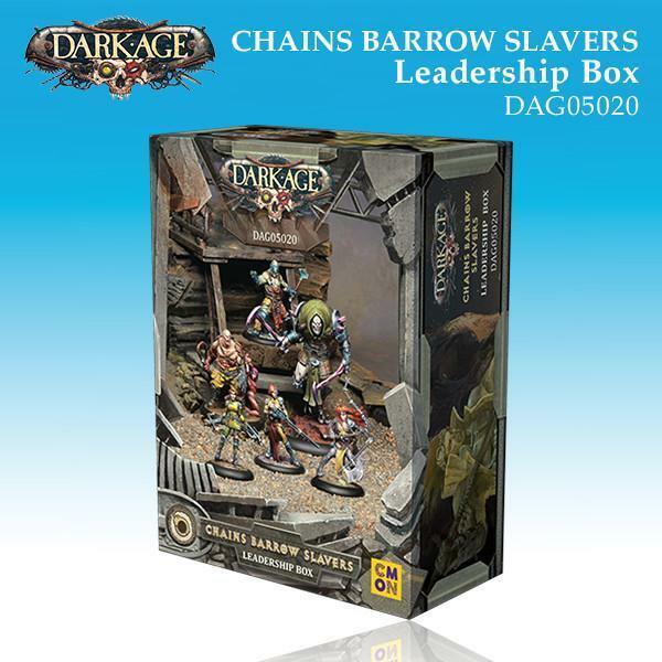 Dark Age Chains Barrow Slavers Leadership  Warhammer 40k Kill Team Inquisition