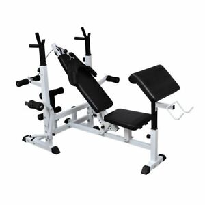 vidaXL-Weight-Multi-Bench-Universal-Gym-Exercise-Training-Fitness-Station