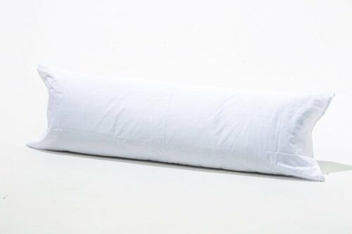 COTTON RICH BOLSTER// MATERNITY// PREGNANCY PILLOW COVER ALL SIZES