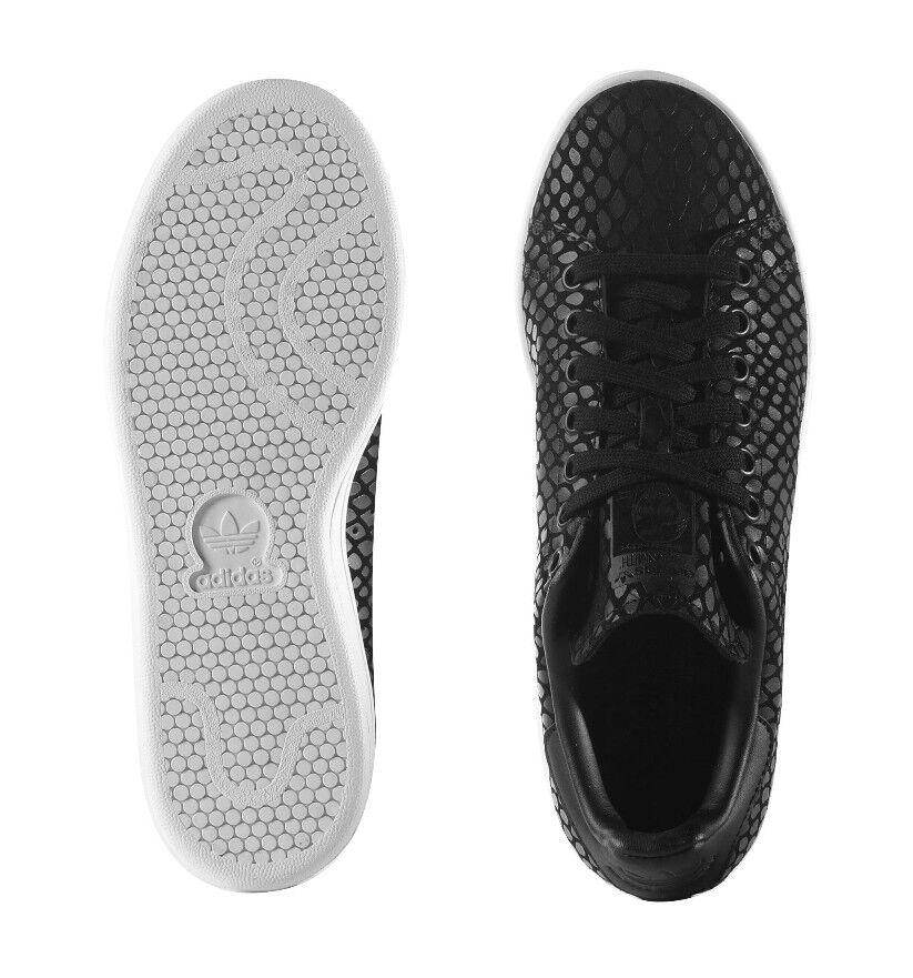 ADIDAS Originals Originals Originals Stan Smith Da Donna Ragazza scarpe da ginnastica Sport Scarpe s75137 Nero 491ad9