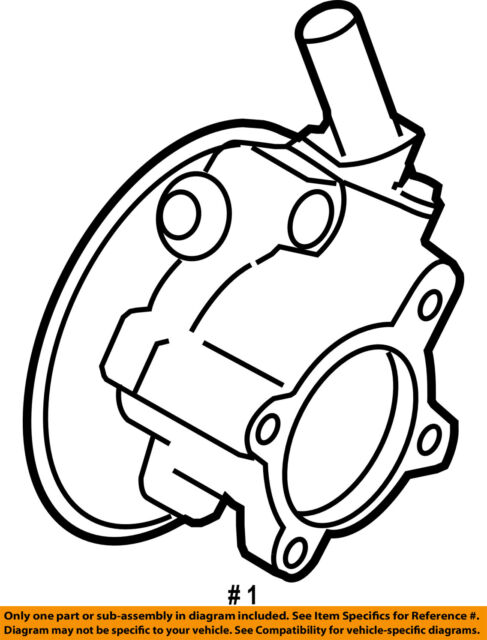 Ford Oem Power Steering Pump 8g1z3a674arm For Sale Online