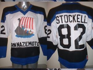 Fleetwood Vikings Cobras Adult M Player Ice Hockey Shirt Jersey NHL ... a0034dfe37c