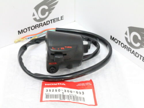 Honda CB 750 Four K0 K1 switch left side handlebar clutch winker new Genuine