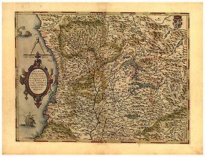 Milan-Parma-Genoa-Lombardy-North-Italy-illustrated-map-Abraham-Ortelius-ca-1570