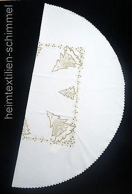 STICKEREI Tischdeckchen WEIHNACHTEN Tischdecke STERN Deckchen Sterndeckchen 30cm