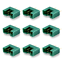 10-unidades-MPX-male-conector-m6-6pin-multiplex-style-6-polos-35a-verde-Plug-hembra miniatura 2