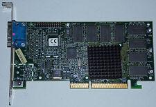 3dfx Voodoo 3 2000 16MB AGP 3.3V VGA TVout 16MB Grafikkarte 210-0364-003 Voodoo3