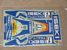 Tamiya Vintage Option Iseki Porsche 962 962C 956 Decal Sticker Sheet 58042 58052