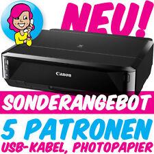 Canon PIXMA iP7250 iP 7250 im Set mit 5 XL-PATR0NEN+U$B+PAP!ER - ohne CD-Tray