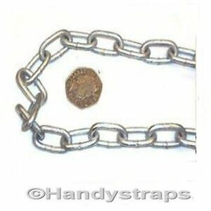 4-mm-x-19mm-Galvanised-Anchor-Mooring-Chain-Lifting-Boat-Yacht