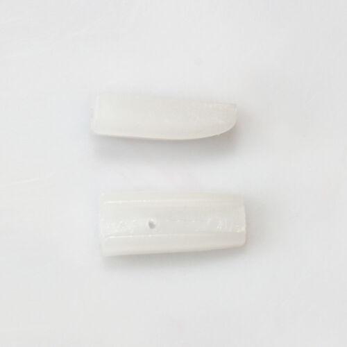 Beadsmith 1 par de mandíbulas de reemplazo para Nylon nariz plana alicates herramientas de joyería *