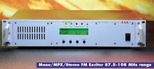 Package of FM 5000 Watt Stereo Transmitter Broadcast 87.5-108Mhz + 6 Bay Antenna