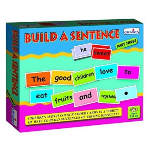 Creative School-Build asentence-III-Phrase III Cre0940 éducatif