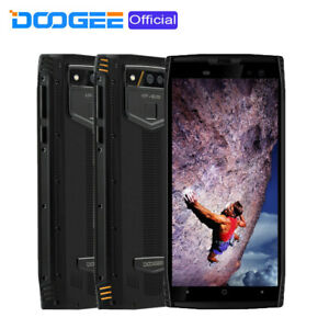 """6GB 128GB Rugged Smartphone Unlocked 2.5GHz 8Core 5.7"""" Android Mobile DOOGEE S50"""