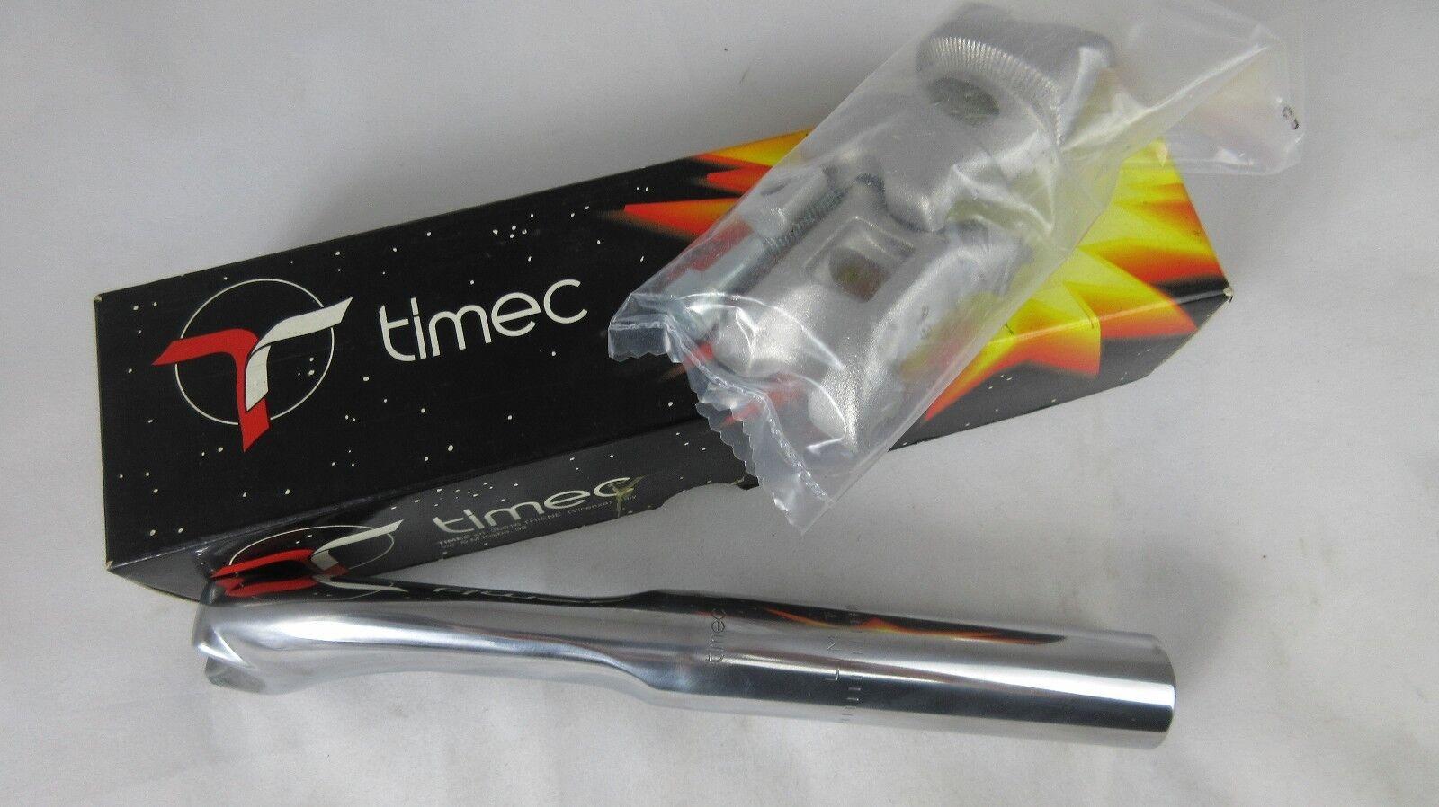 NOS TIMEC Aero Alu seatpost, 25,2   25,6   25,8 x 210 mm, NIB