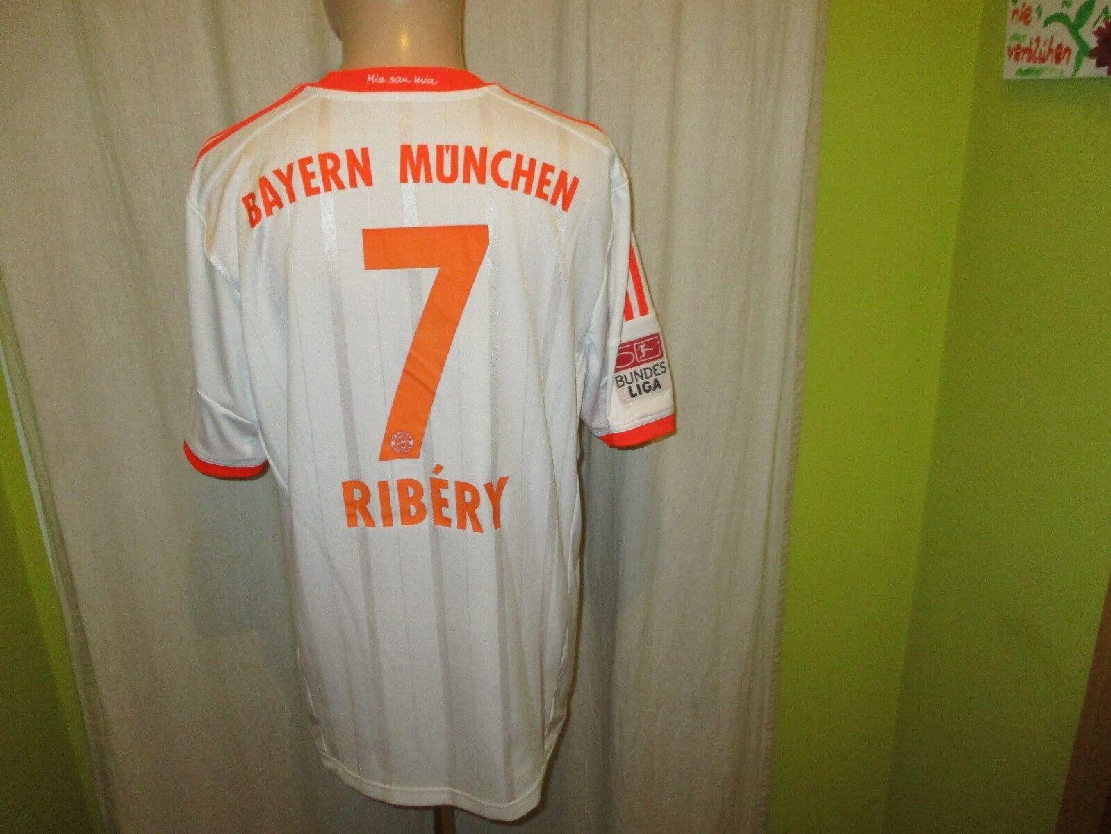 FC Bayern München Adidas Auswärts Triple Triple Triple Trikot 2012 13 + Nr.7 Ribery Gr.XL  | Für Ihre Wahl  864553