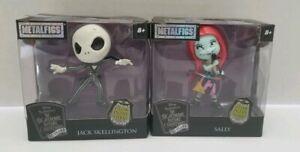 "New Nightmare Before Christmas Mini MetalFigs 2.5/"" Sally Glow in Dark Jada Toys"