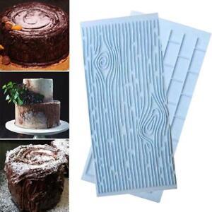 Schokoladen-Kuchen-Fondant-Form-des-Silikon-3D-die-Sugarcraft-Form-verzier-L5K7